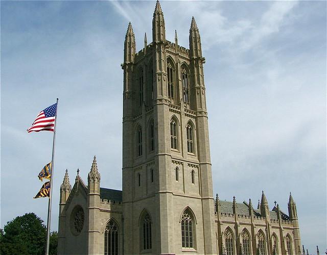 Chapel Exterior Trinity College Hartford Ct College