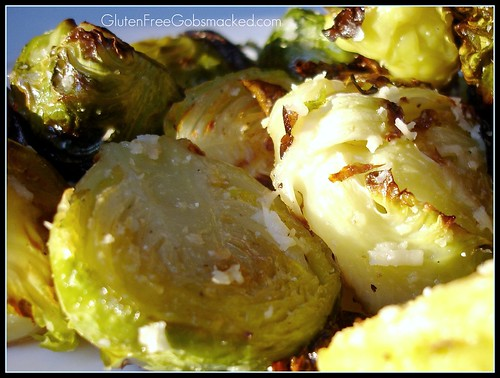 Savory Roasted Brussel Sprouts | by Kate Chan