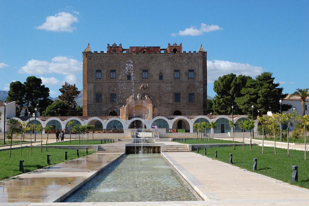 Palermo castello della zisa e giardino point n pray flickr for Planimetrie della camera a castello