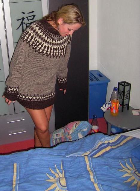 Sexy Blonde Girl In Icelandic Wool Sweater Mytwist Flickr | Free ...