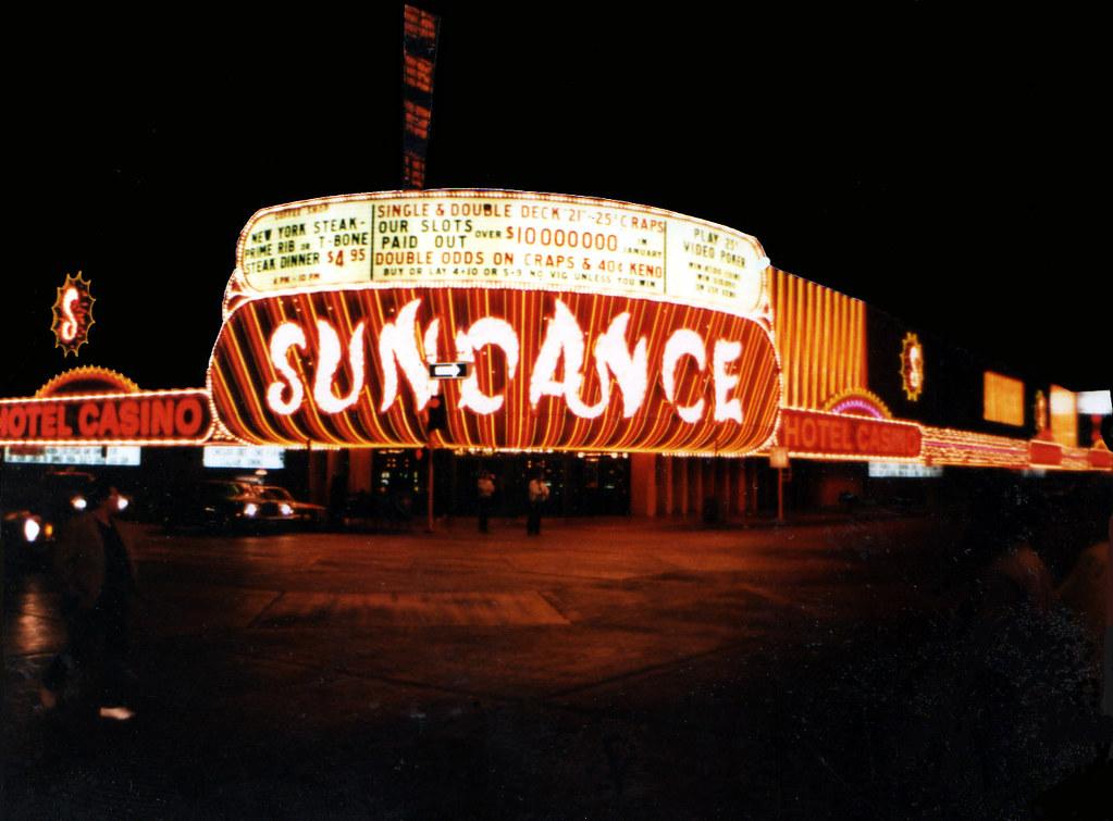 Sundance Casino Las Vegas 1980 S This Casino Was Located