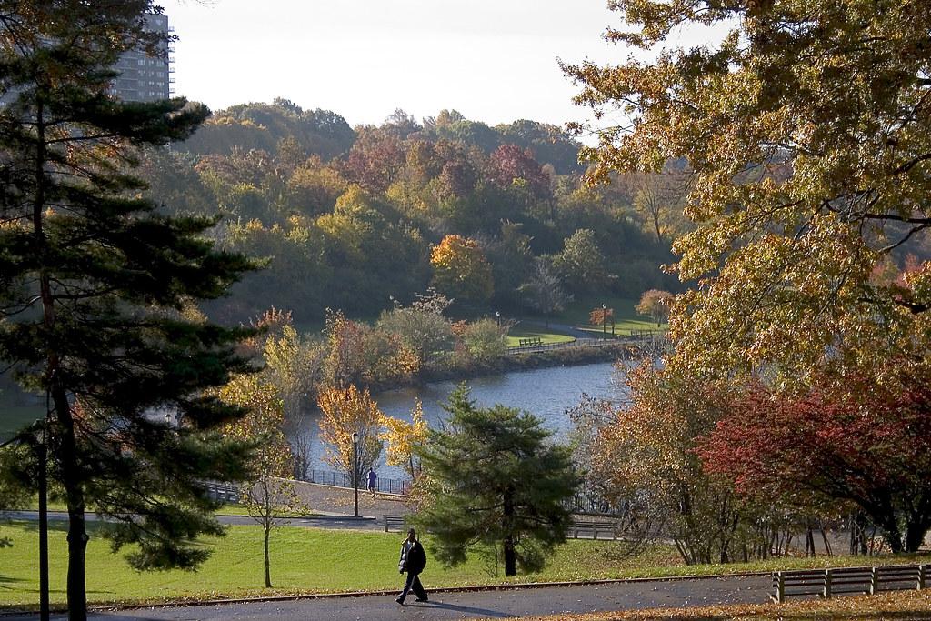 Fall Foliage Silver Lake Park Staten Island Al D Flickr
