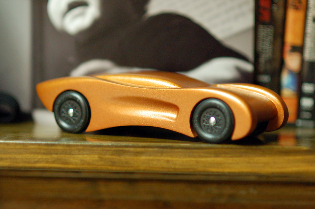 2008 pinewood derby car step 15 wheels on and aligned flickr