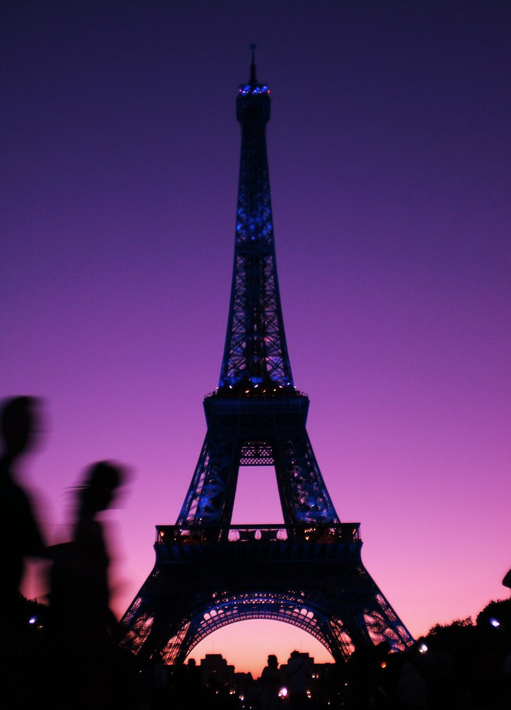 Paris Eiffel Tower Photography at Night Eiffel Tower at Night   by