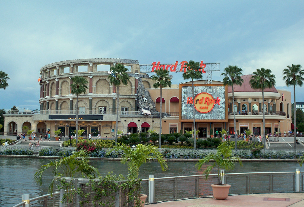 Biggest Hard Rock Cafe In The World