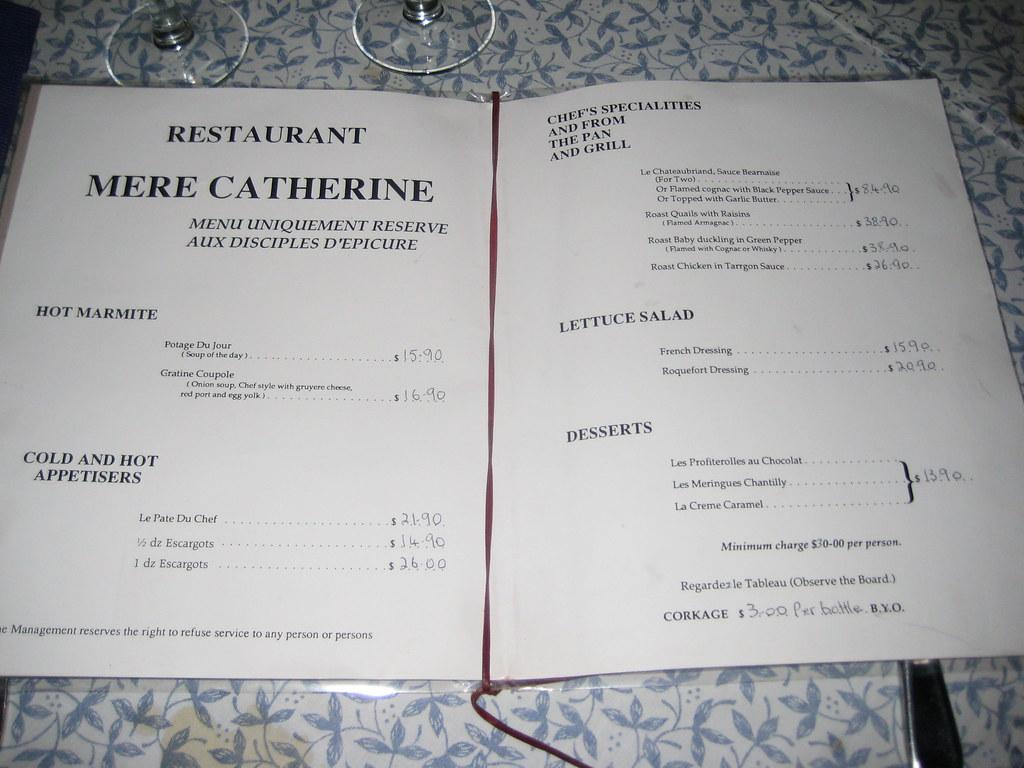 Restaurant Menu St Valentin Carrement Boeuf