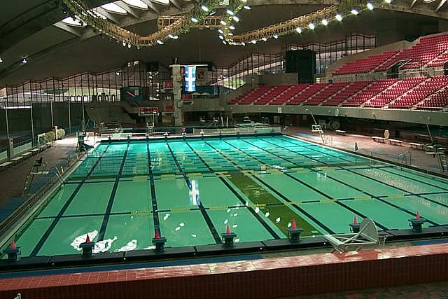 Montreal Olympic Stadium Montreal Olympic Stadium Swim Flickr