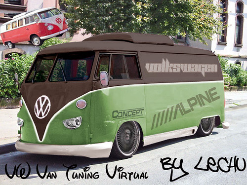 Vw Van Tuning Virtual Para La Propuesta Digital De Maxi