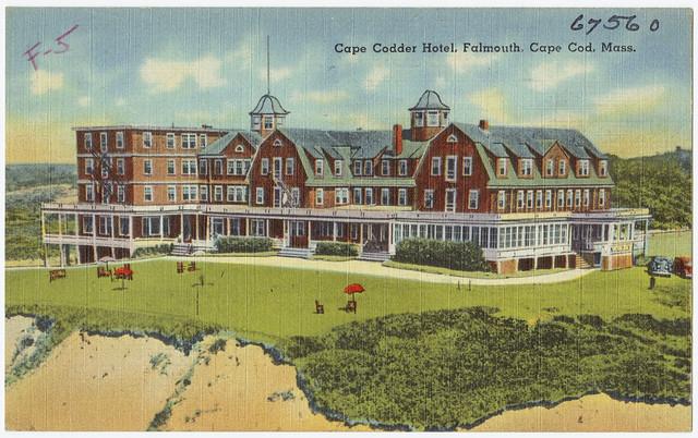 Cape Cod Hotels >> Cape Codder Hotel, Falmouth, Cape Cod, Mass. | File name ...