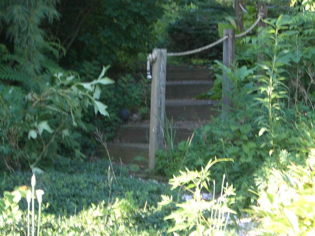 Patio Garden Steps Art Deco Flickr