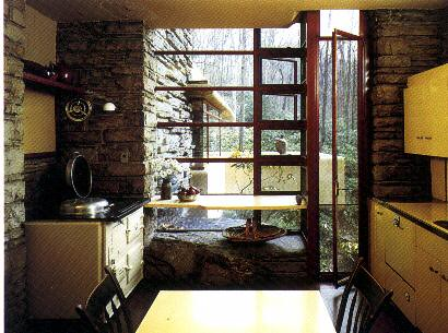G2 f ll wrigth casa de la cascada cocina enrique viola - La maison sur la cascade ...