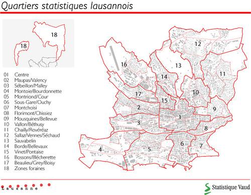 Quartiers Statistiques De Lausanne Hublera Flickr