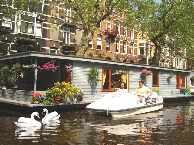 Baixo or amento acomoda o hotel edif cio barco para aluga for B b amsterdam