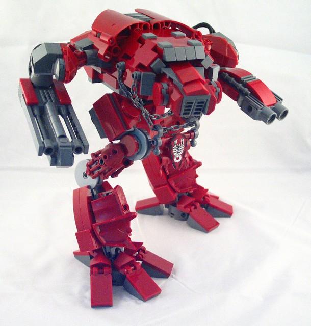Как сделать робот титан