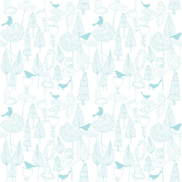 Wallpaper pattern blue this is a blue version of the for Blue patterned wallpaper bedroom