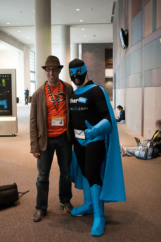 Jared Goralnick and Mr. Spam - South by Southwest Interactive 2009 | by Randy Stewart