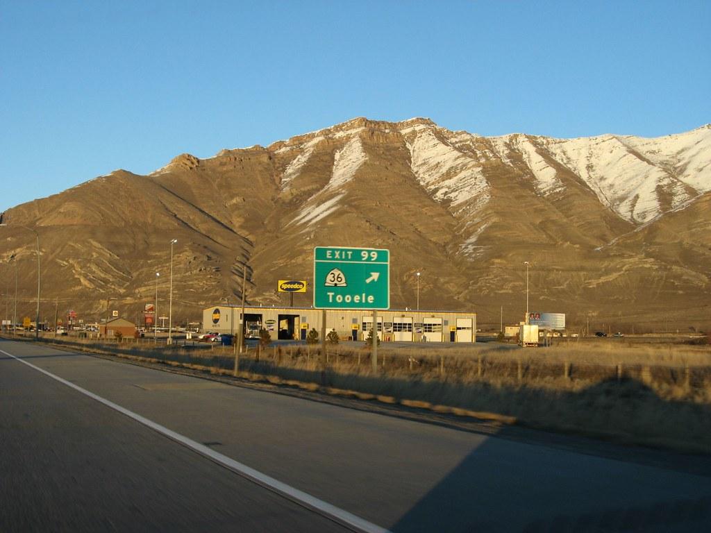 Exit 39 Tooele Interstate 80 Utah Interstate 80 I 80