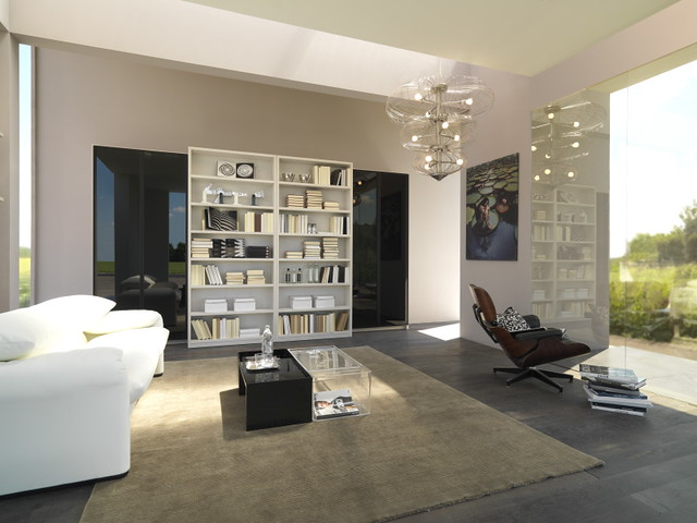 Mazzali Quot Mday Quot Bookcase Libreria Quot Mday Quot Living Area