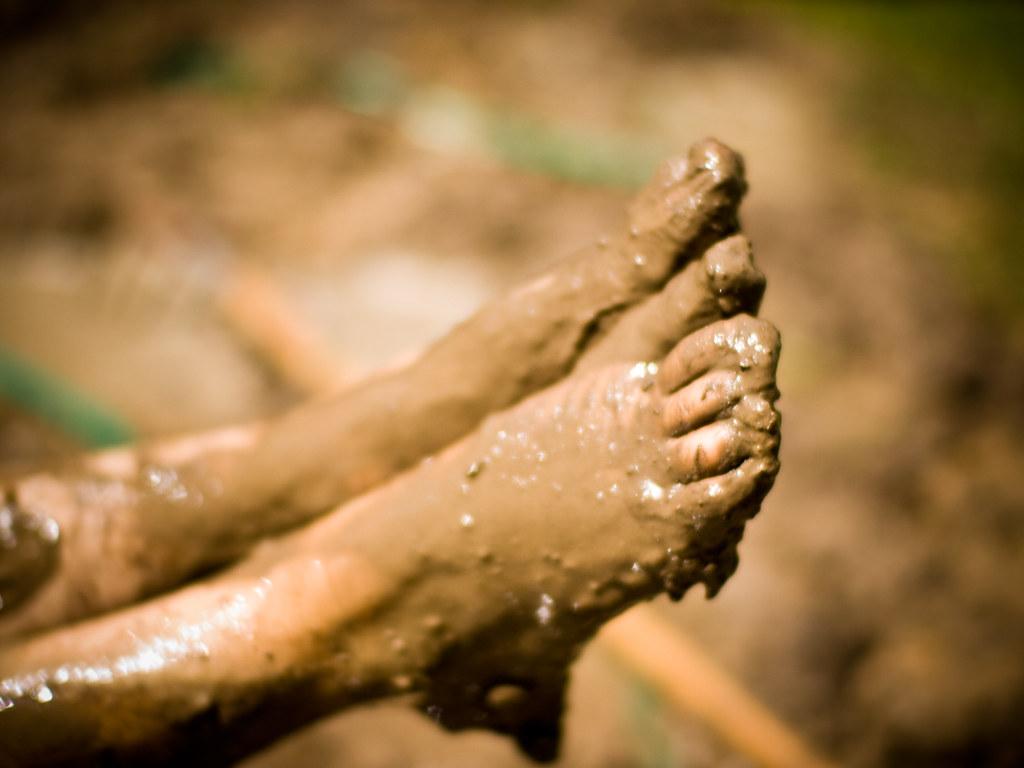Muddy Feet Libby Johnson Flickr