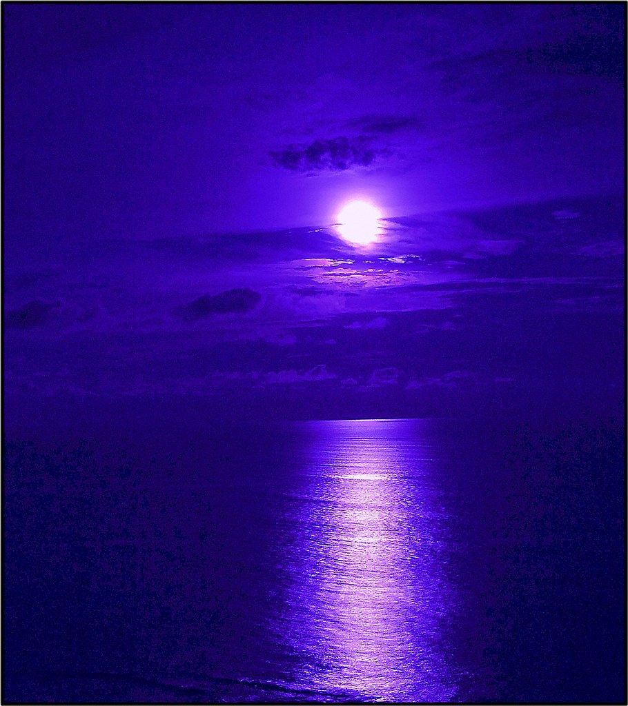 Mooning Over New Missoni: Full Blue Moon Over The Pacific...