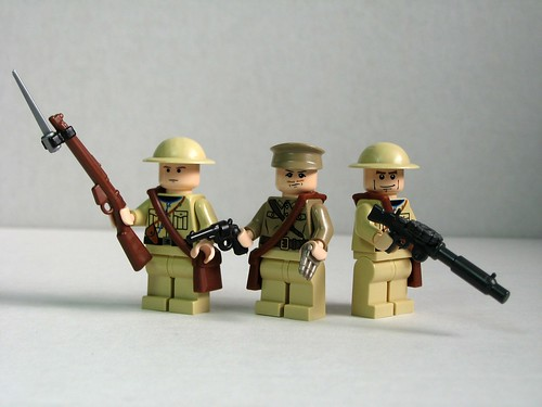 Allied World War I soldiers | by Dunechaser