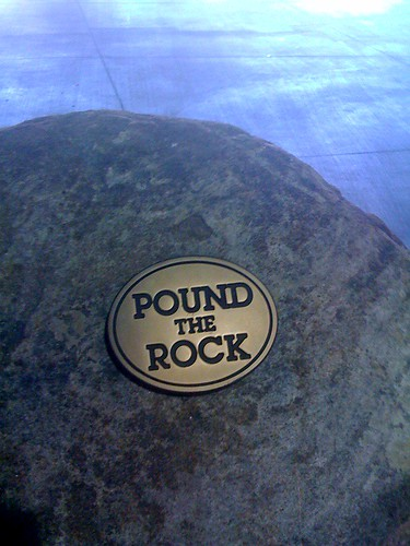 Pound The Rock | by teejayscool