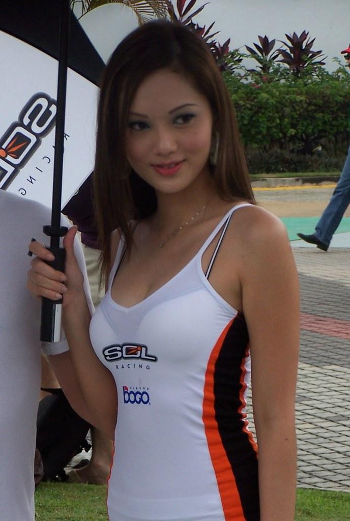 Sepang Girl 1  Welcome Girl Motogp Event At Sepang -7293