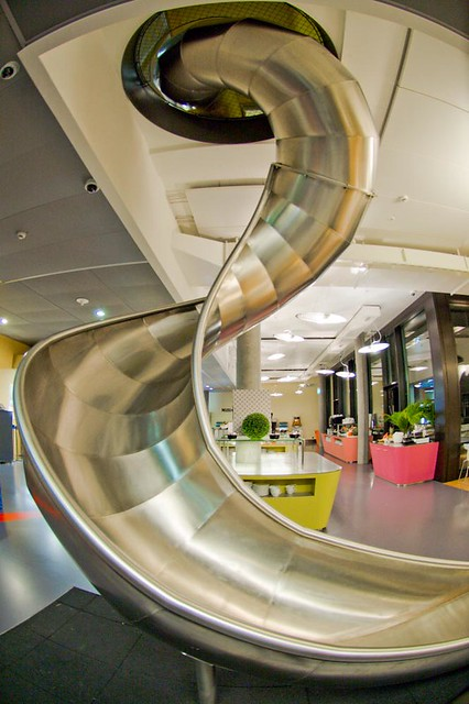 by pineapplebun google zurich office the slide slides h
