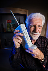 MARTIN COOPER - Inventor of the Mobile Phone | by Mark Berry - Photographer & Graphic Designer