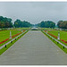 The Grand Parterre of Schloss Nymphenburg, Munich, Germany