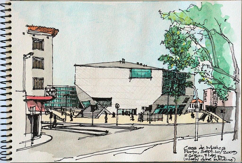 Porto casa de musica a new concert hall by the dutch for Casa musica microcentro