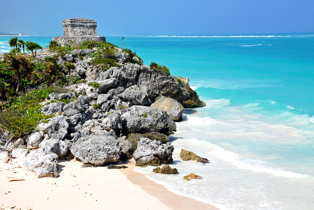 Tulum Ruins - Temple of the Winds