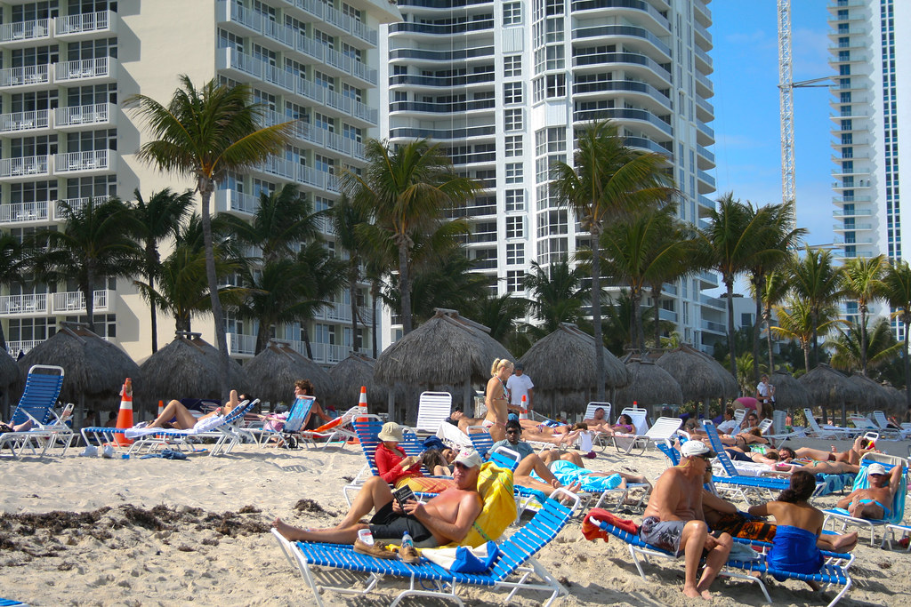 Miami Beach Resort Ocean Bar Bistro