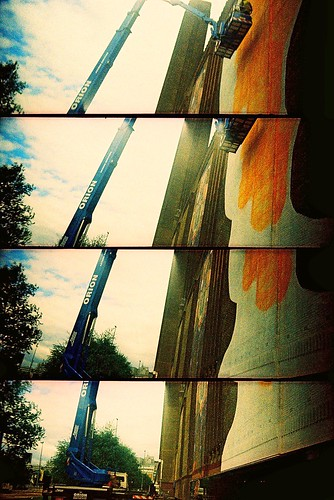 Just popped out to paint a wall.... | by Trapac