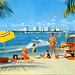 Publicity Postcard of Miami,1950s