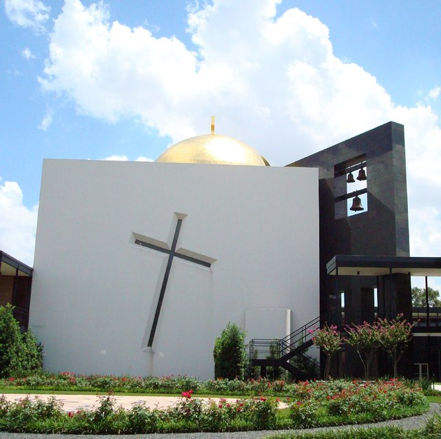 Modern Chapel The Chapel Of St Basil Located On The