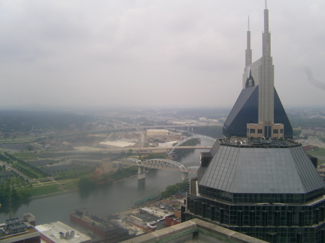 Atop The L Amp C Tower Nashville Tn Overlooking The