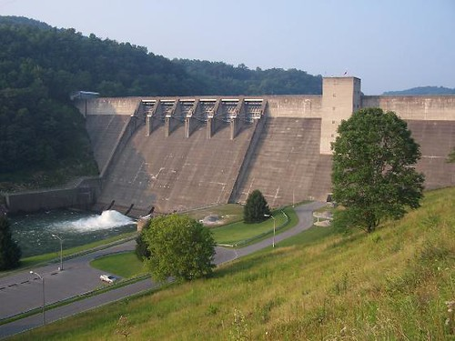 Sutton Dam West Virginia Just East Of Sutton You Will
