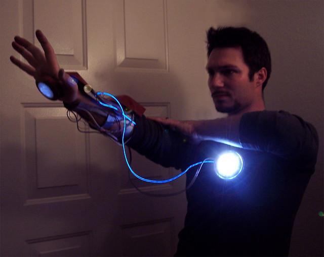 Beautiful ... Tony Stark Cosplay : Arc Reactor | By The3rdrobin