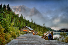 Lake Louise Boat House | by Maclobster