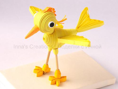 Bird 3d Quilling Bird Three Dimensional Quilling