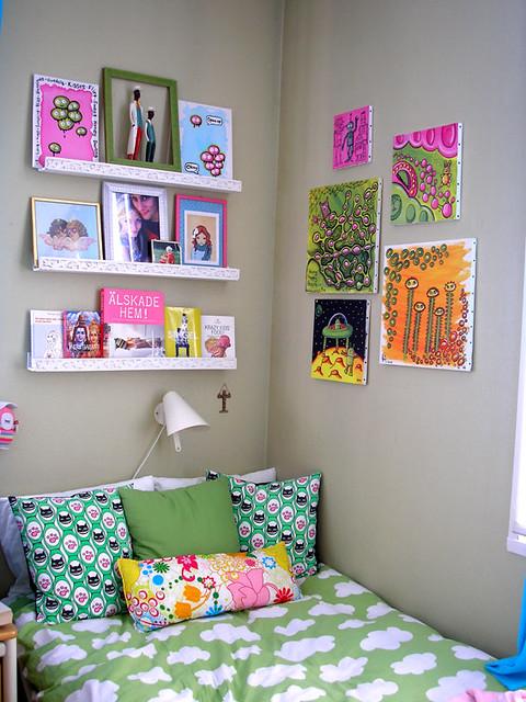 Картина в комнату девочки своими руками 35