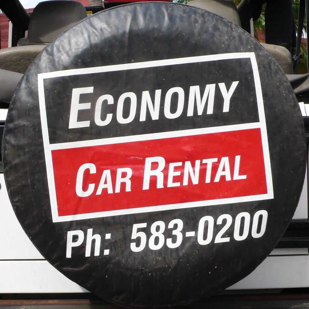 Rental Car Economy Miami