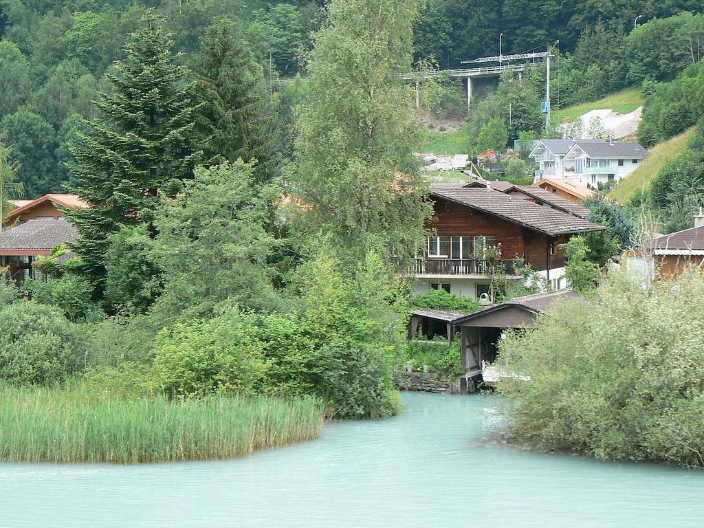 Bord du lac de brienz michelle flickr - Lac de brienz ...