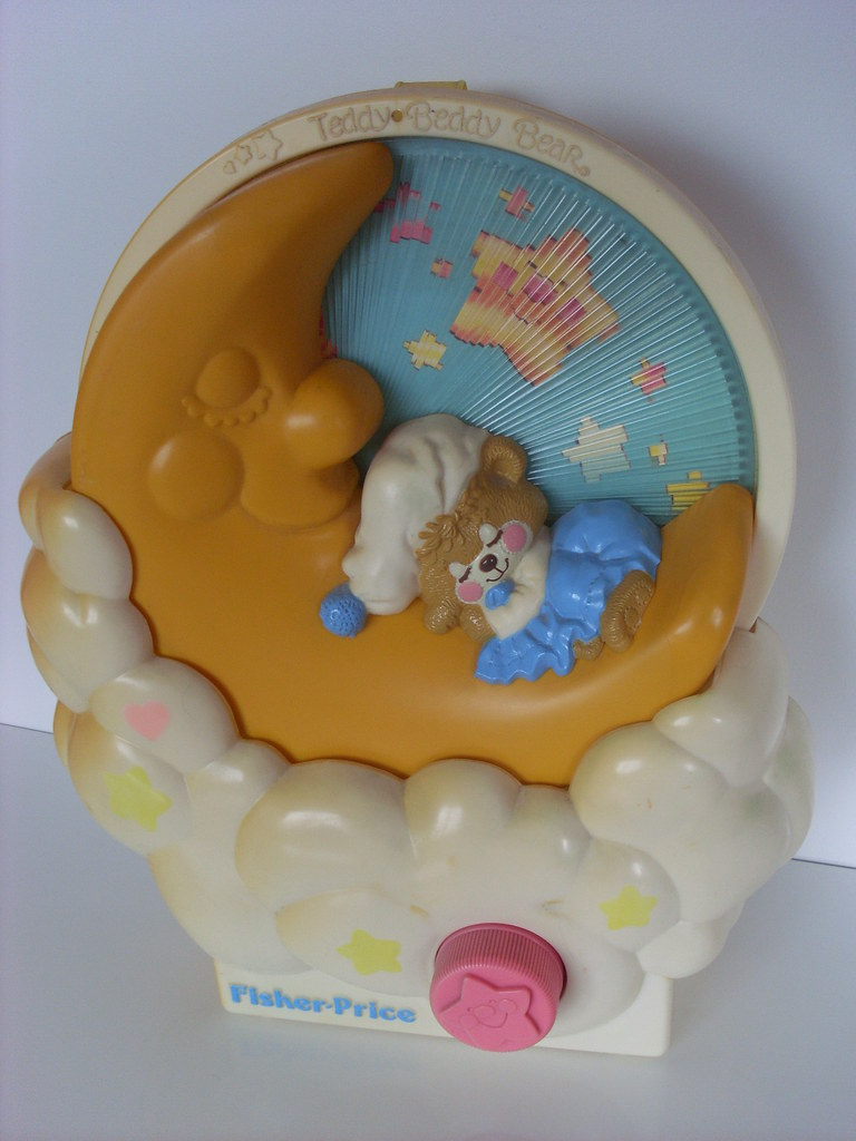 Fisher Price Teddy Beddy Bear music box 1985 | Lucychan80 | Flickr