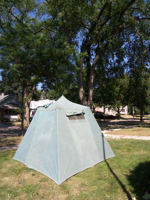 My Vintage Umbrella Tent 2 Rainier Brand Seattle Tent