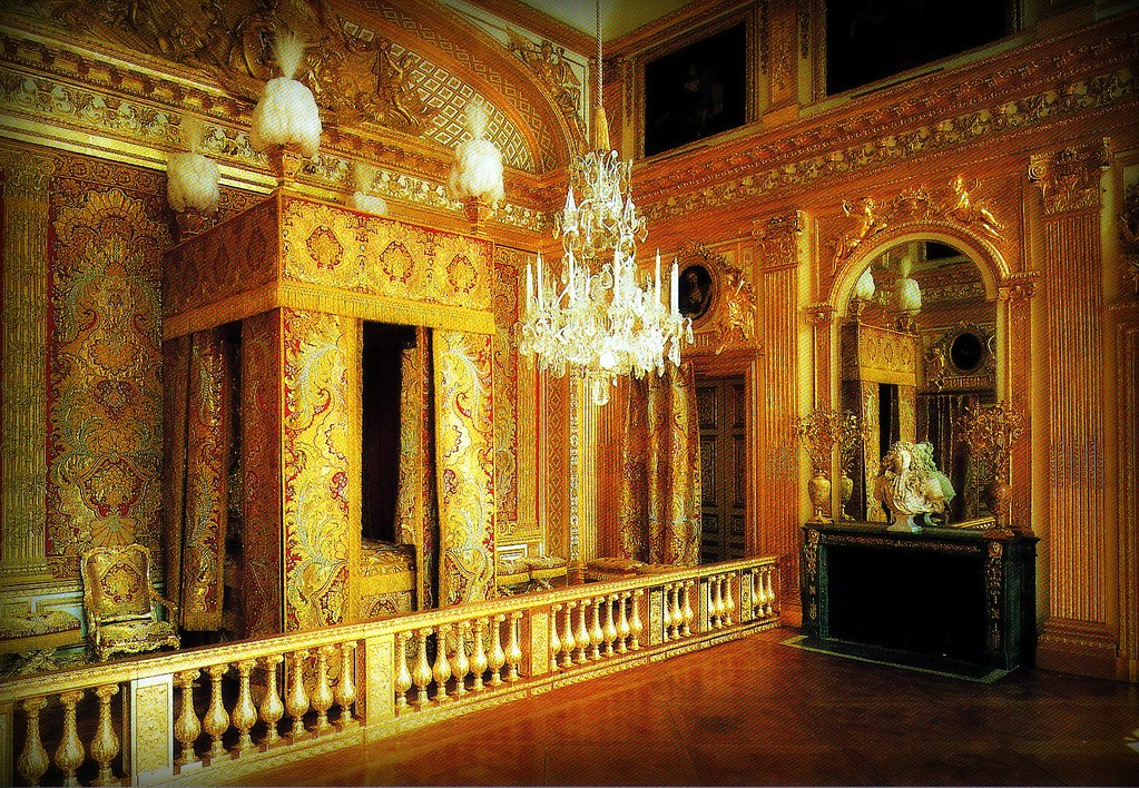 louis xiv bedroom versailles whitney flickr