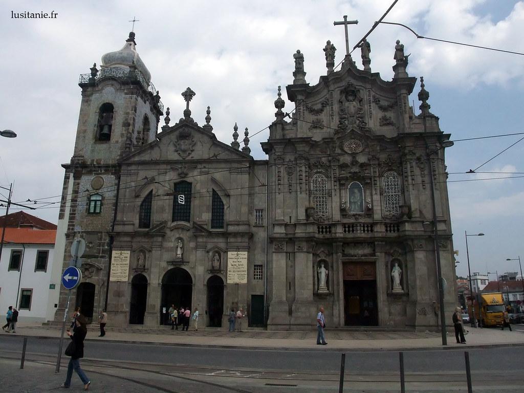 églises jumelles des Carmelites et du Carmo, à Porto