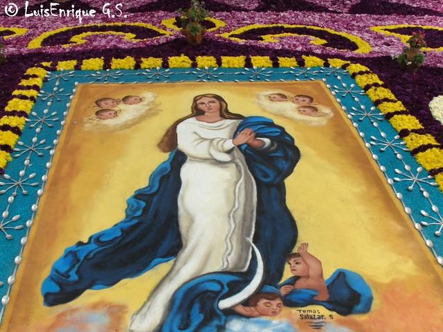 Alfombra en huamantla tlaxcala m xico la noche que for Alfombras persas en mexico