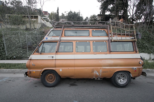 van no. 1 (double decker dodge) | Something about this remin… | Flickr